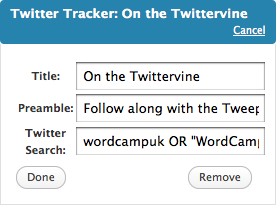 Twitter Tracker | Easy WordPress Website