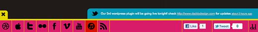 Social Toolbar   Easy WordPress Website