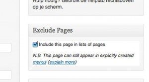 Exclude Pages Plugin | Easy WordPress Website
