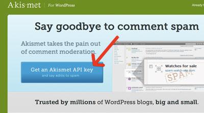 Get Akismet API-Key  | Easy WordPress Website | Biz2Web