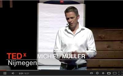 Michiel Muller op TEDx Nijmegen | Biz2Web