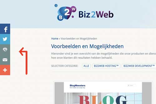 Share buttons AddThis Layers | Biz2Web