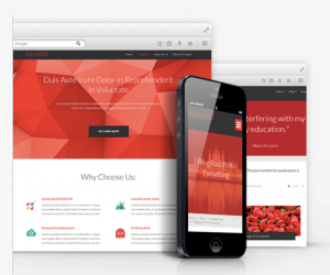 mobile responsive thema's van Thrive | Biz2Web